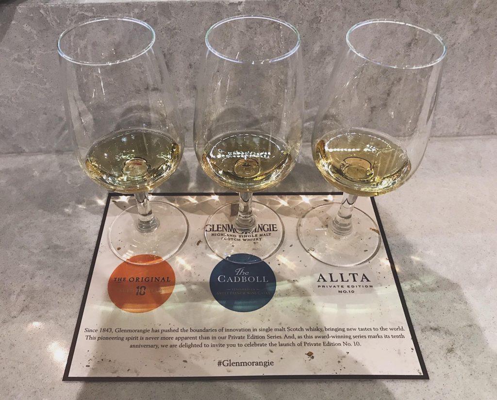 Glenmorangie whisky tasting The Original The Cadboll Allta