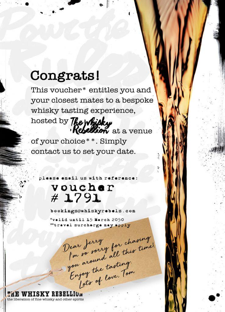whisky rebellion voucher
