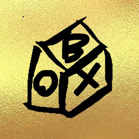 BOX gold transparent