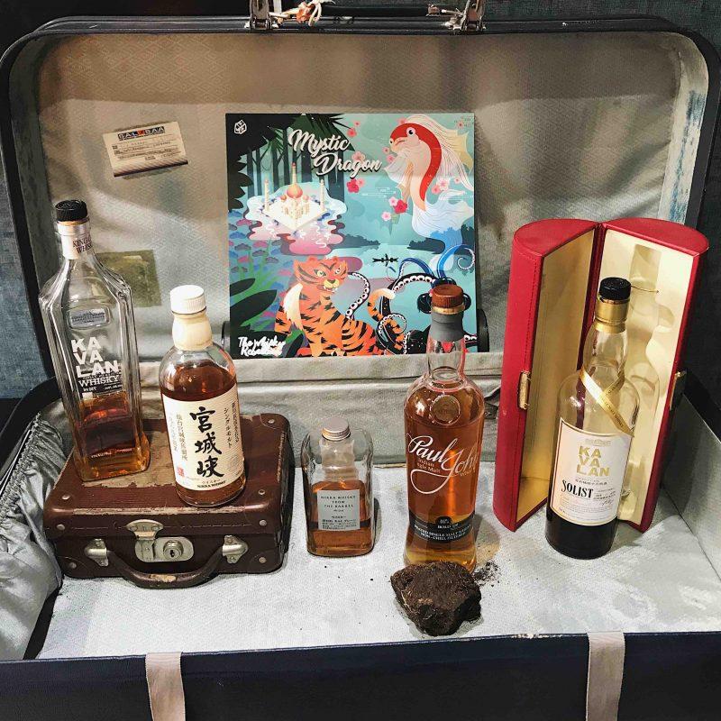 Mystic Dragon Suitcase
